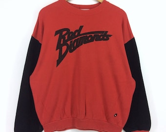 Vintage Soccer Club Red Diamond Sweatshirt PqFXvplU