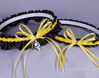 Pittsburgh Steelers Wedding Garter Set - Ready to Ship