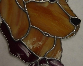 Stained Glass custom Labrador Retreiver Dog