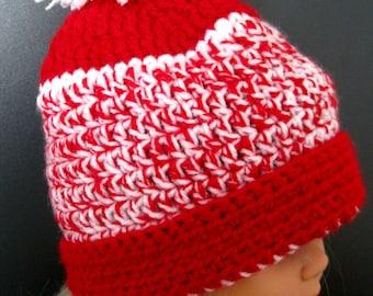 Crochet Child Winter Hat , Crochet Child Wool Hat