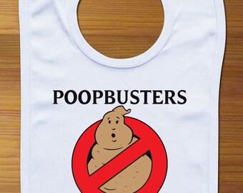 Poopbusters Funny Baby Bib Cloth