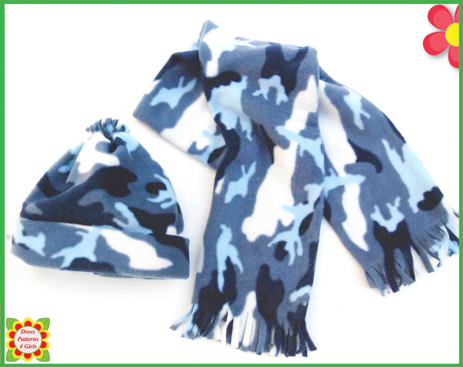 Hat scarf sewing pattern from new born to xxl adult girls zoom jeuxipadfo Image collections