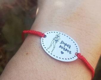 Super Mama bracelet/Super Mama bracelet Colorfull