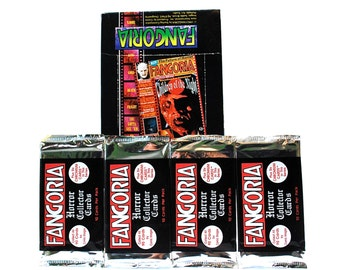 4 Fangoria Horror Card Packs by Comic Images 1992