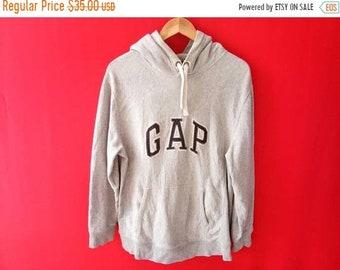 vintage gap hoodie sweatshirt large mens size
