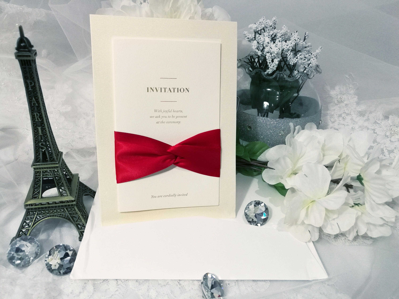 Custom Laser Cut Wedding Invitation Lace Wedding Invitation