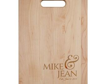 Anniversary Cutting Board - Engraved Cutting Board,Personalized Cutting Board, Wedding Gift,Housewarming Gift, Anniversary Gift