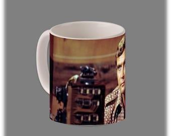 The Six Million Dollar Man Coffee Cup #1089