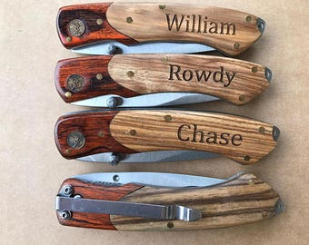 Gifts For Him • Brother Gift • Husband Gift • Boyfriend Gift • Engraved Gifts For Men • Mens Personalized • Pocket Knife Birthday Gifts