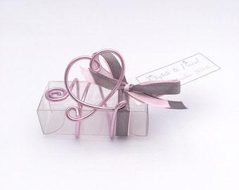 Box dragees wedding