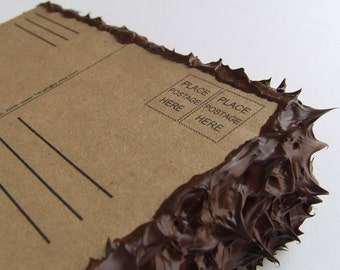 cake mail, a nice slice of fake postcard cake.