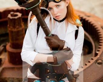 8x10 Signed Hextech Janna Cosplay Print
