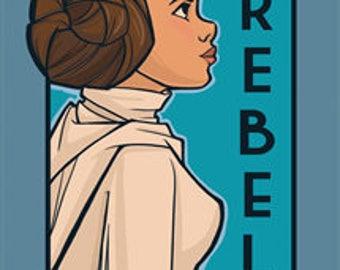 Rebel- She Series Postcard (Item 09-416)