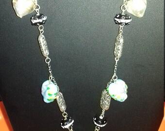 Necklace, fantasy, original, handmade women