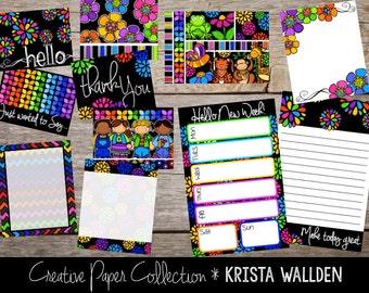 Creative Paper Box: Bold and Bright