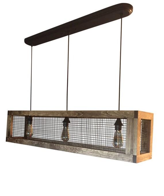 Rustic Lighting Chandelier Wood Light