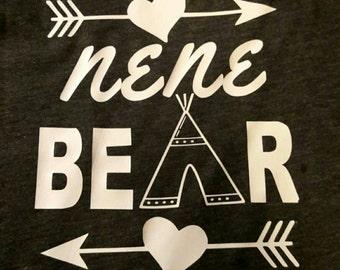 Nene/Nana Bear Shirts