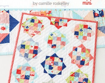 MINI Rise and Shine quilt pattern from Thimble Blossoms