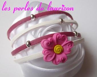 A charming pink bracelet
