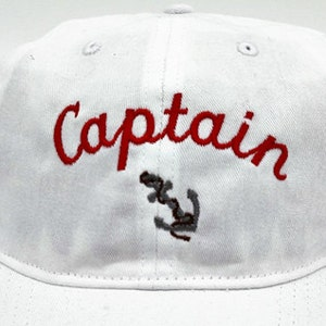 ... High Quality Customized Embroidery Captain Hat Yacht Cap Navy Skipper  Sailor Military Party Costume Cap ...