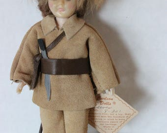 Vintage Carlson Doll Lewis Doll with Tag Lewis and Clark