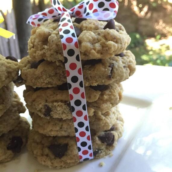 Vegan Chocolate Chip Walnut cookies 10 pieces, plant based
