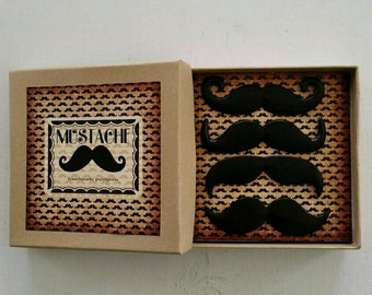 Mustache Push Pins
