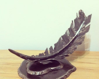 steel Feather with stand