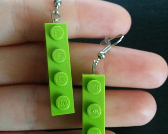 4x1 LEGO Earrings