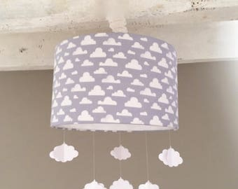 Lamp shade pendant light cloud