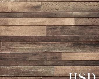 Rustic Wood Photography Backdrop Vinyl, Faux Wood Floor Photography, Photo Backdrops, Wood Background Floor Drop, Wood Backdrops WDF185