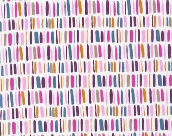 Cloud9 Fabrics - Garden Secrets - Rows Columns Pink