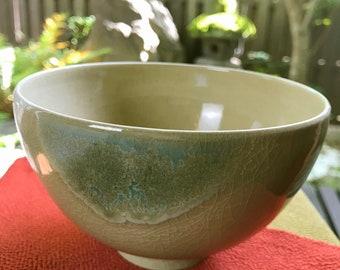 "Japanese S042210  ""Agano-yaki"" Cup ""Chawan""(茶碗) Tea Ceremony Equipment"