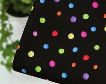 Rainbow Dot Pattern ,30S Cotton 100% Fabric, by Yard
