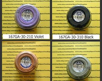 DMC - Cebelia Crochet Cotton Thread - size 30 - assorted colors - approx. 563 yds - 1 ball - #167GA-30