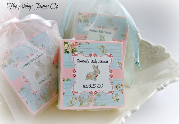 shabby chic baby shower favors set of 10 soap favors baby rh etsy com shabby chic party favors shabby chic wedding favors ideas