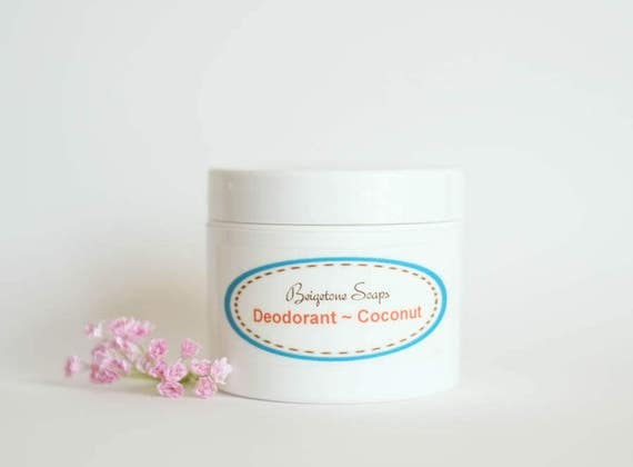 Creamy Coconut Deodorant | 2oz Jar | All Natural | Aluminum and Paraben Free | One Jar Lasts Up to 6 Months!