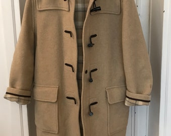 Vintage and authentic Gloverall British duffel coat