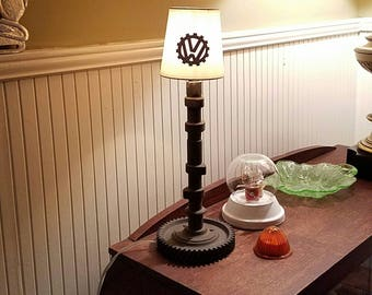 VW Camshaft Mancave Garage Desk Or Nightstand Lamp With Shade 113 109 111 A
