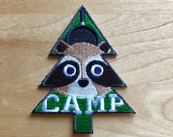 Camp Embroidered Patch