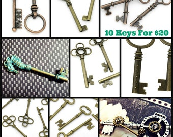 10 Keys Of Your Choice - Mix And Match!!