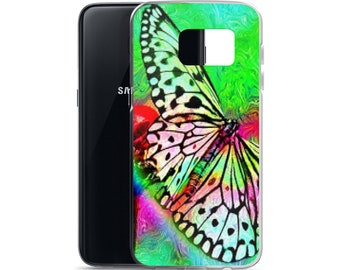 Samsung Case Beautiful Butterfly Spring Summer Unique