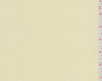 Buttercream Yellow Satin, Fabric By The Yard
