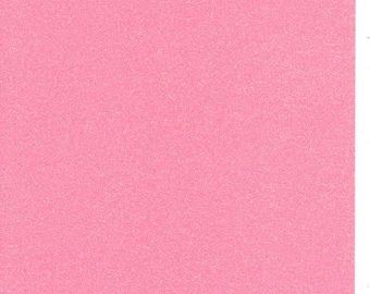 Pink Glitter Card A4 soft touch low shed 1 sheet