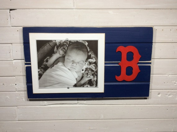 Boston Red Sox picture frame holds 1-8x10 photo