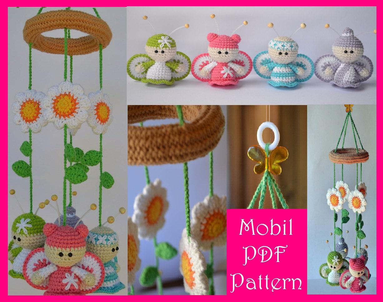 Hermosa Crochet Patrón De Mariposa Libre Fotos - Ideas de Patrón de ...
