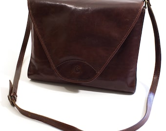 Vintage Gabrielle Leather Handbag