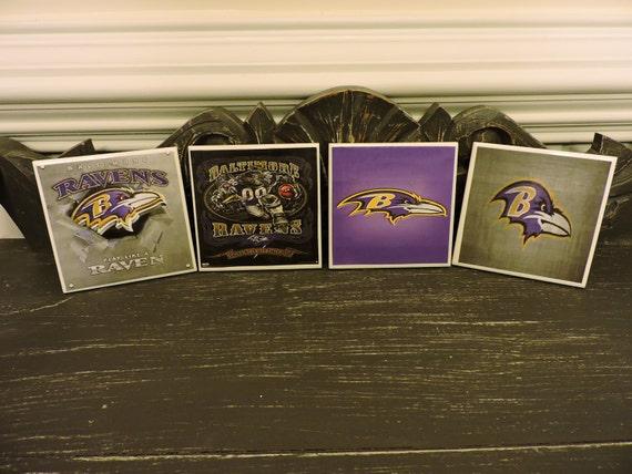 Baltimore Ravens Ceramic Coasters House Decor Home Decor
