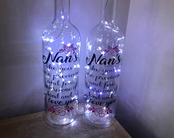 Mothers Day Light up Bottles