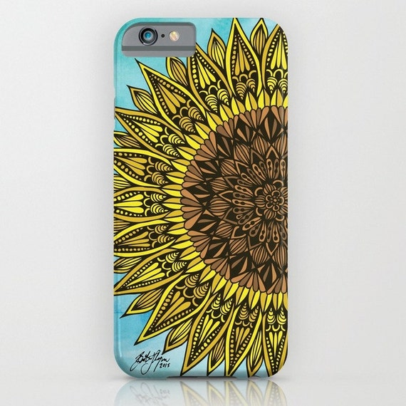 Zentangle - Sunshine Phone Case